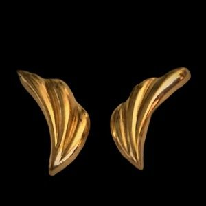 Vintage Napier Gold Plated Earrings